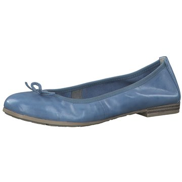 Marco Tozzi Klassischer Ballerina blau