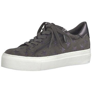 Marco Tozzi Plateau Sneaker grau