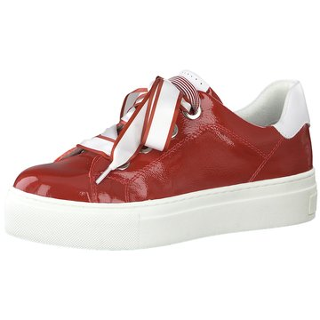 Marco Tozzi Plateau Sneaker rot