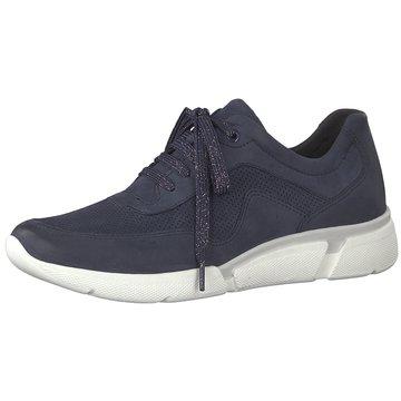 Marco Tozzi Sneaker Low blau