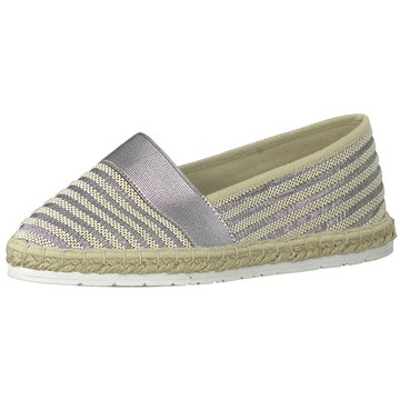 Marco Tozzi Espadrille silber