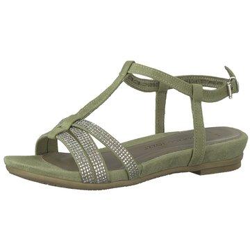 Marco Tozzi Sandale grün