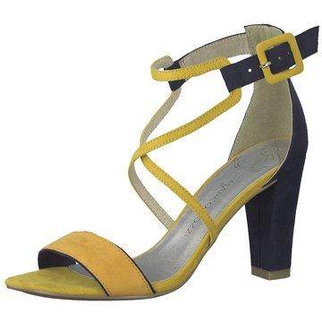 Marco Tozzi Top Trends Sandaletten gelb