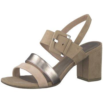Marco Tozzi Top Trends Sandaletten beige