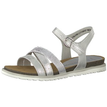 Marco Tozzi Komfort Sandale silber