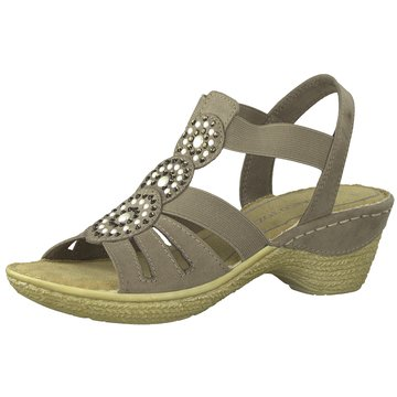 Marco Tozzi Komfort Sandale braun
