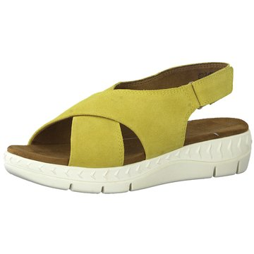 Marco Tozzi Komfort Sandale gelb