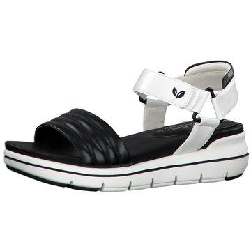 Marco Tozzi Komfort Sandale schwarz