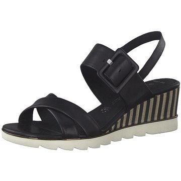 Marco Tozzi Top Trends Sandaletten schwarz