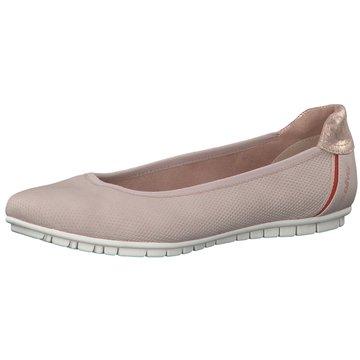 s.Oliver 5-22106-24 Women Damen Ballerinas Freizeit Schuhe Slipper Halbschuhe