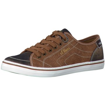 s.Oliver Sneaker Low braun