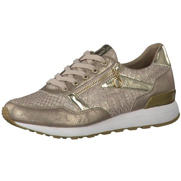 s.Oliver Sneaker Low gold
