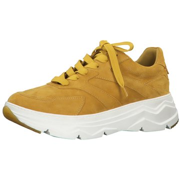 s.Oliver Plateau Sneaker gelb