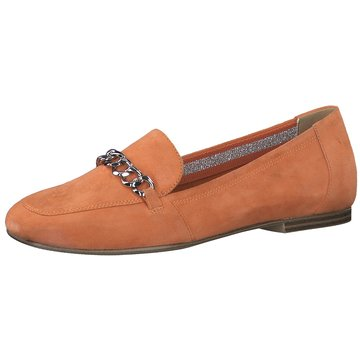 s.Oliver Klassischer Slipper orange