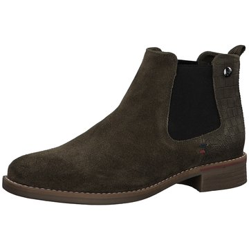 s.Oliver Chelsea Boot grün