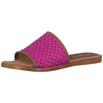 s.Oliver Klassische Pantolette pink
