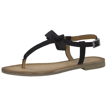s.Oliver Top Trends Sandaletten schwarz