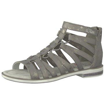 s.Oliver Offene Schuhe grau