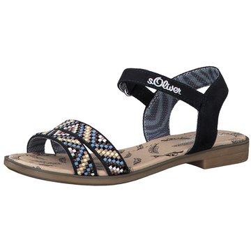 s.Oliver Offene Schuhe blau
