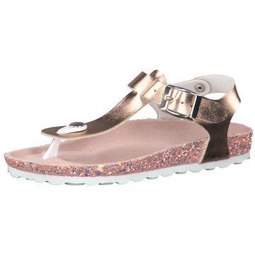 s.Oliver Offene Schuhe gold
