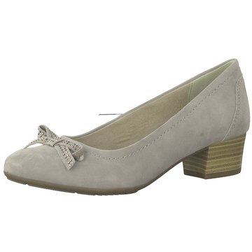 Jana Flacher Pumps grau