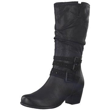 a+w Komfort Stiefel schwarz