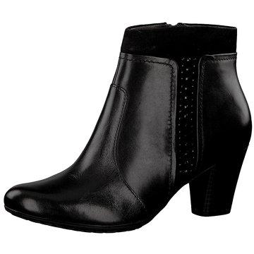 Be Natural Klassische Stiefelette schwarz