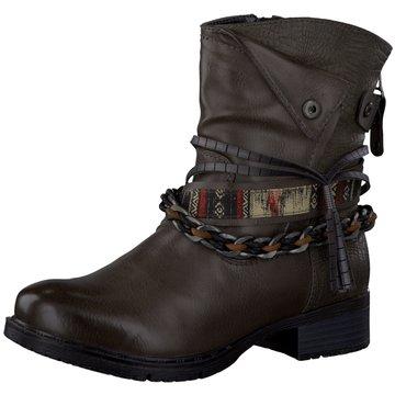 Jana Biker Boot grau