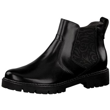 Be Natural Chelsea Boot schwarz