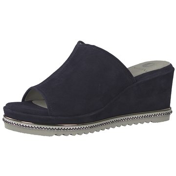 Be Natural Keilpantolette blau
