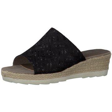 Jana Komfort Pantolette schwarz