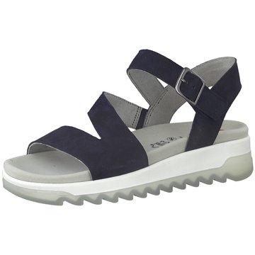 Jana Komfort SandaleDa.-Sandalette blau