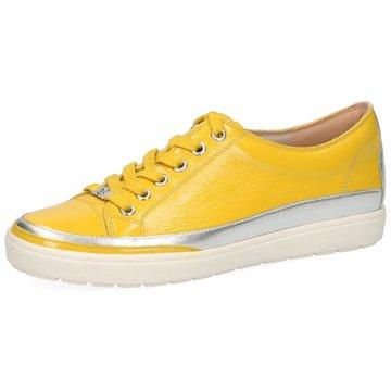 Caprice Sportlicher Schnürschuh gelb