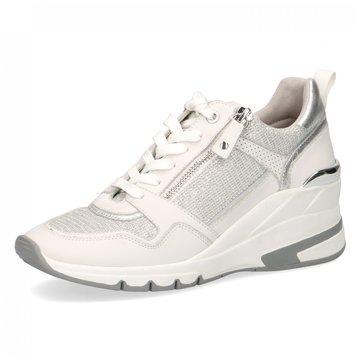 Caprice Sneaker Wedges weiß