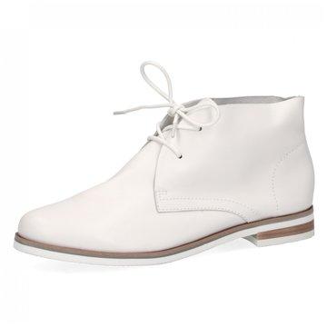 Caprice Klassischer Schnürschuh weiß