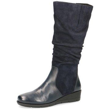 Caprice Komfort Stiefel blau