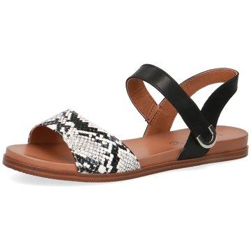 Caprice Top Trends Sandaletten schwarz