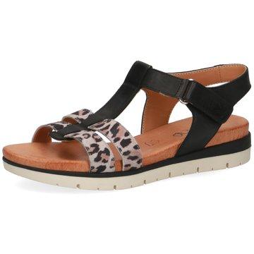 Caprice Komfort Sandale bunt