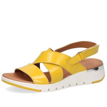 Caprice Komfort Sandale gelb