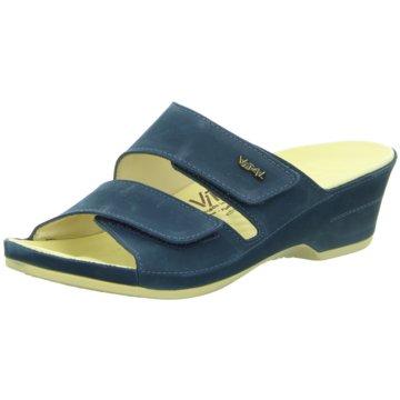 Vital Bequeme Sandalen blau