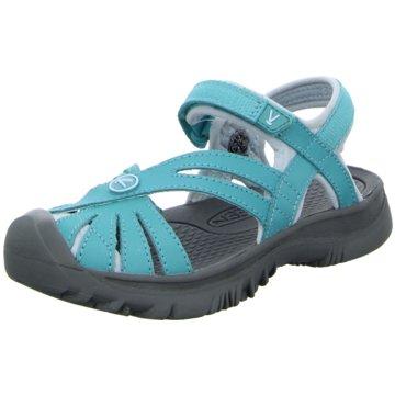 Keen Offene Schuhe blau