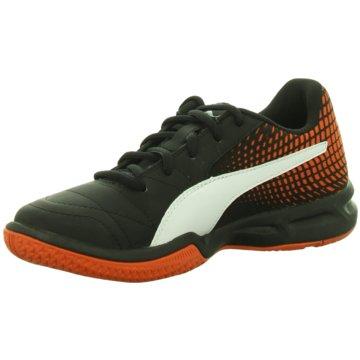 Puma Trainings- und Hallenschuh schwarz