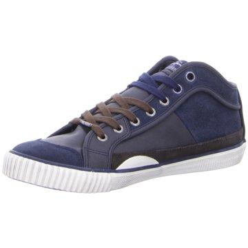 PEPE Jeans Sneaker High blau