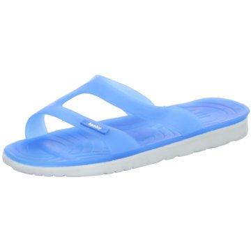 Fashy Bade- Zehentrenner blau