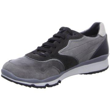 Geox Sportlicher Schnürschuh grau