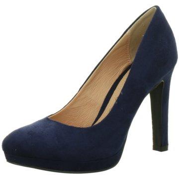 Buffalo High Heels blau