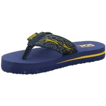 TEVA Offene Schuhe blau