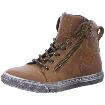 develab Sneaker High braun