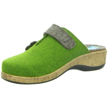 Fidelio Hausschuh grün