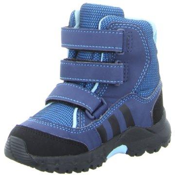 adidas Klettstiefel blau